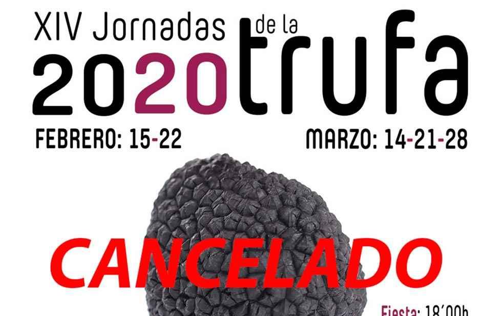 La Barrosa suspende las XIV Jornadas de la Trufa