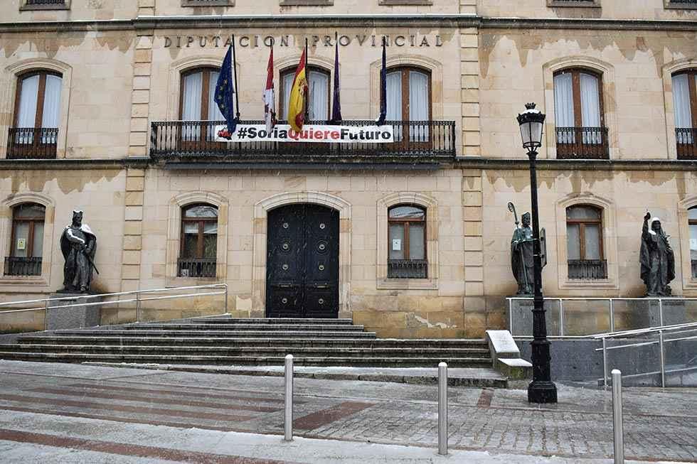 La Diputación, en servicios mínimos por el coronavirus