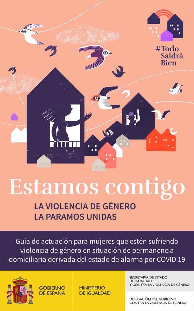 Campaña de información a las víctimas de violencia de género