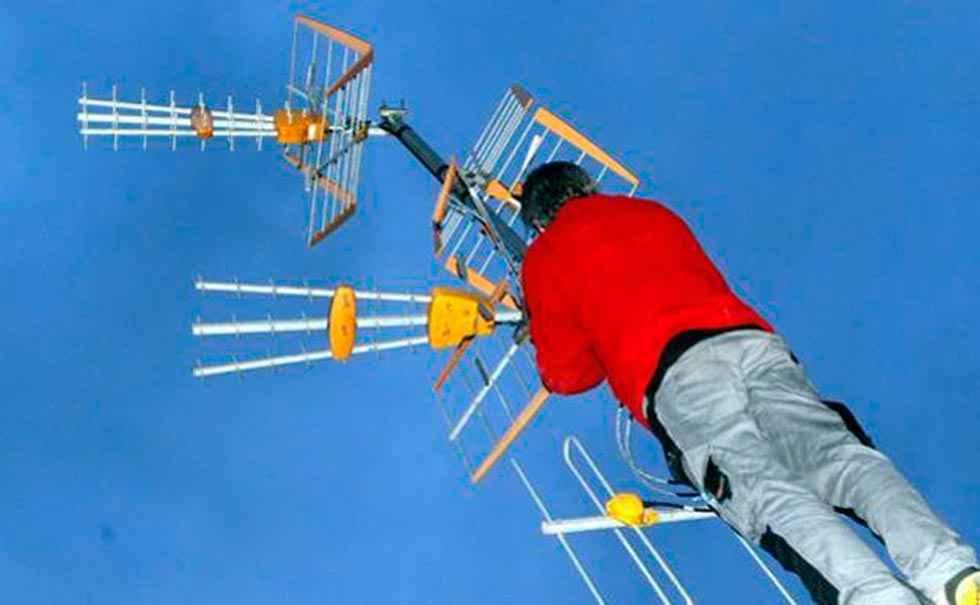 El cambio de frecuencias en la TDT llega a El Burgo