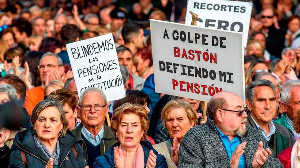 Soria tiene 22.543 pensionistas con 943 euros de pensión media
