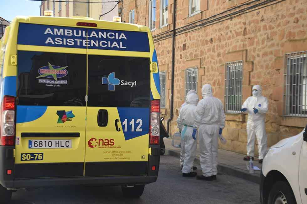 Covid 19: treinta personas fallecidas en Soria