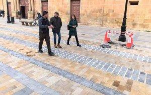 La pavimentación de Condes de Gómara termina en un mes