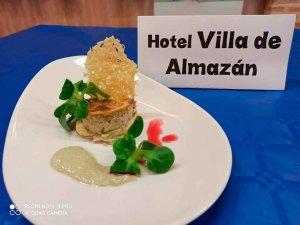 La mejor tapa medieval, del hotel Villa de Almazán