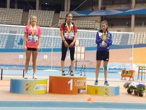 Sara Bogo, bronce en el Campeonato de España sub-18