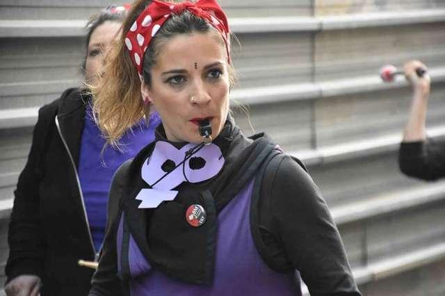 Manifestación del Día de la Mujer, en Soria - fotos