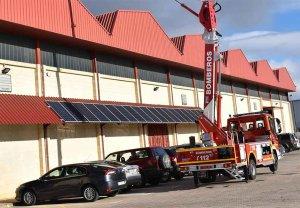 Instalación fotovoltaica para cinco parques de bomberos