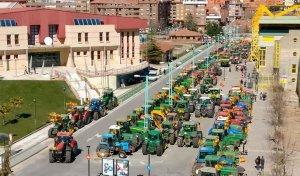Gómez (ASAJA) resalta el éxito de la tractorada y pide medidas