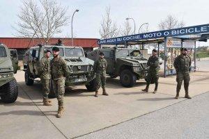 El Ejército se despliega en Almazán