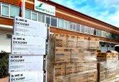 Soria Natural dona 84.000 guantes y 600 batas desechables