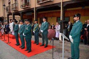 Reconocimiento al trabajo de la Guardia Civil en San Esteban