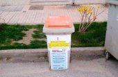 San Esteban instala contenedores específicos para el COVID