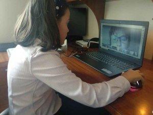 Teletrabajo con los alumnos de Trilema Soria