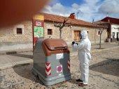 Vías y Obras colabora en desinfección de lugares públicos