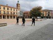 El RING1 se despliega en Almazán en acciones de presencia