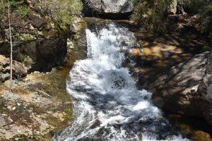 Covaleda: cascada de La Chorrera - fotos