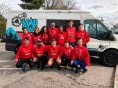 El Club Triatlón Soriano dona material sanitario