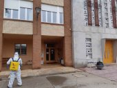 La UME despliega un centenar de militares para desinfectar