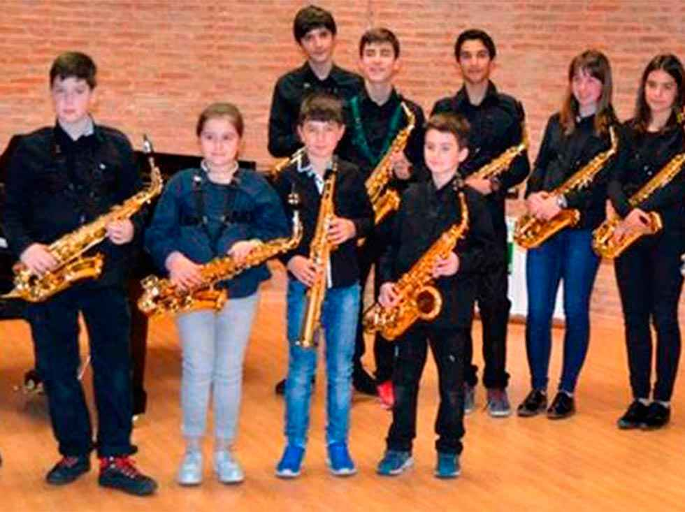 Los peques de la Escuela de Música se quedan en casa