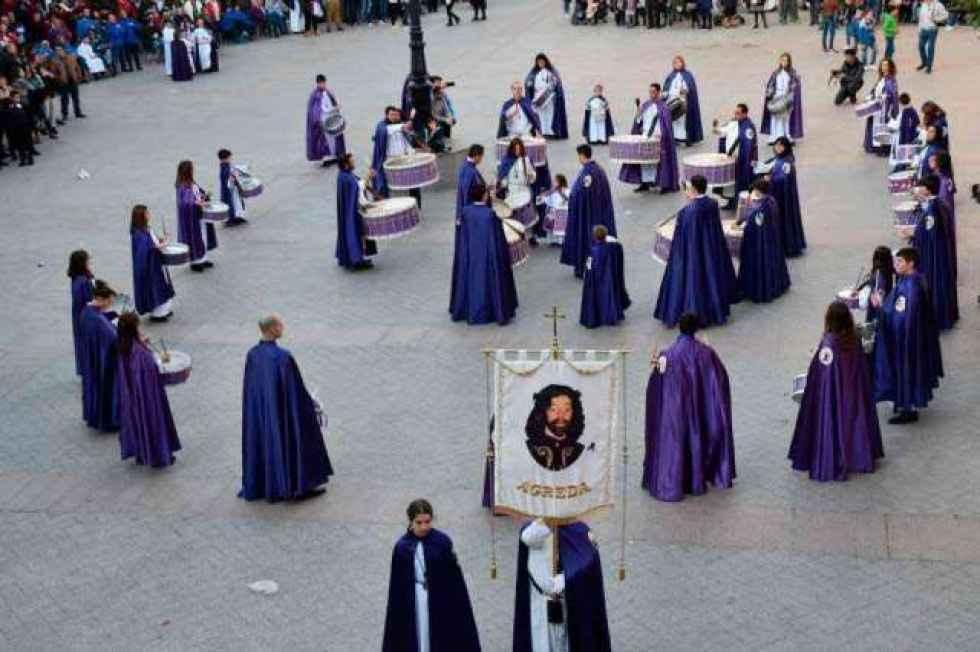 La Banda Municipal de Ágreda homenajea a la Santa Vera Cruz