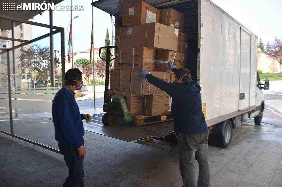 CECOPI distribuye más de 400.000 unidades de protección