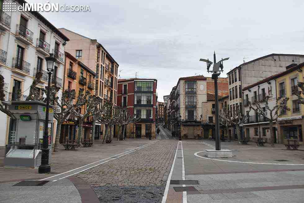 Detenido un joven en Soria por saltarse confinamiento