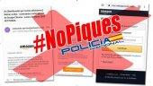 La Policía alerta de tentativa viral de fraude