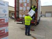 El Ayuntamiento recibe 5.000 batas enviadas por Arnedo