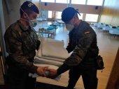 El refuerzo sanitario del Ejército, operativo en Soria