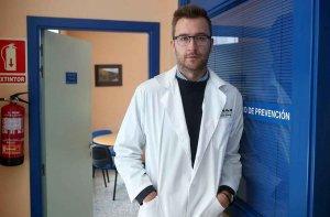 Jaime Pérez, deportista y médico en la crisis del Covid