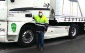Reparto de 20.000 mascarillas a los transportistas