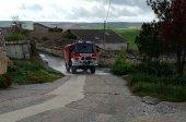 Los bomberos continúan labores de desinfección en vías y lugares públicos