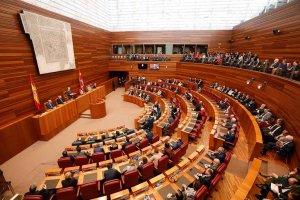 Las Cortes regionales retoman su actividad parlamentaria