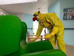 La UME inicia desescalada progresiva en desinfección