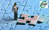 Miles de funcionarios, preocupados por el futuro de las pensiones