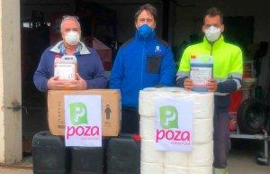 Donación de material de protección a la Mancomunidad de Pinares