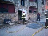 Incendio en la cocina de una vivienda de Cabrejas del Pinar