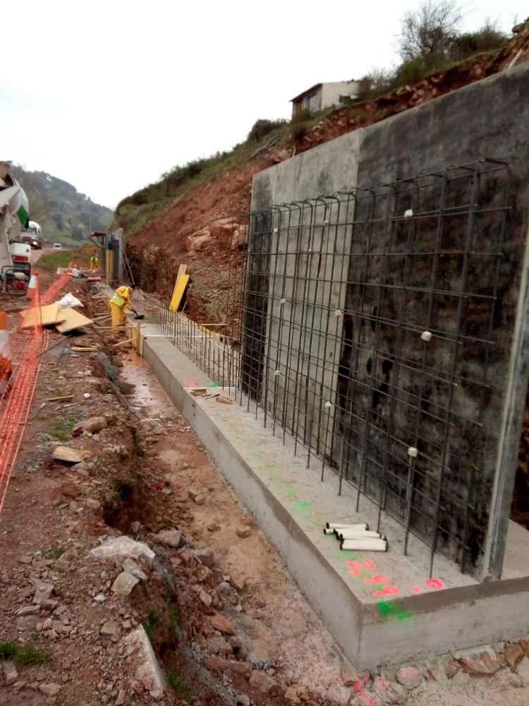 Reiniciadas las obras de la carretera de Montenegro de Cameros