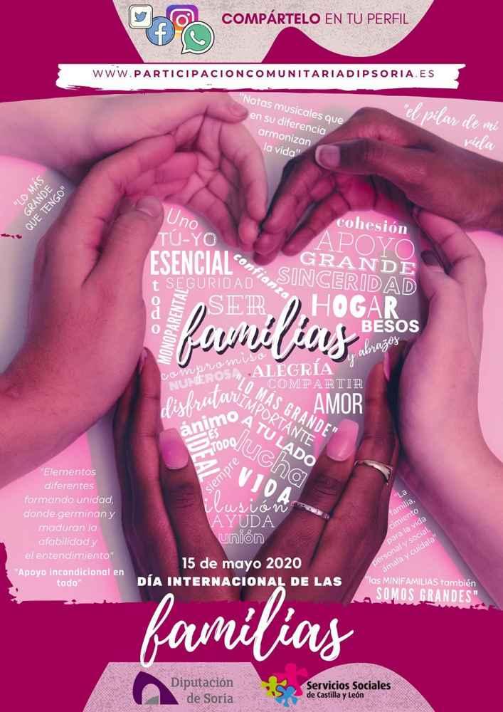 Diputación organiza actividades en el Día Internacional de la Familia