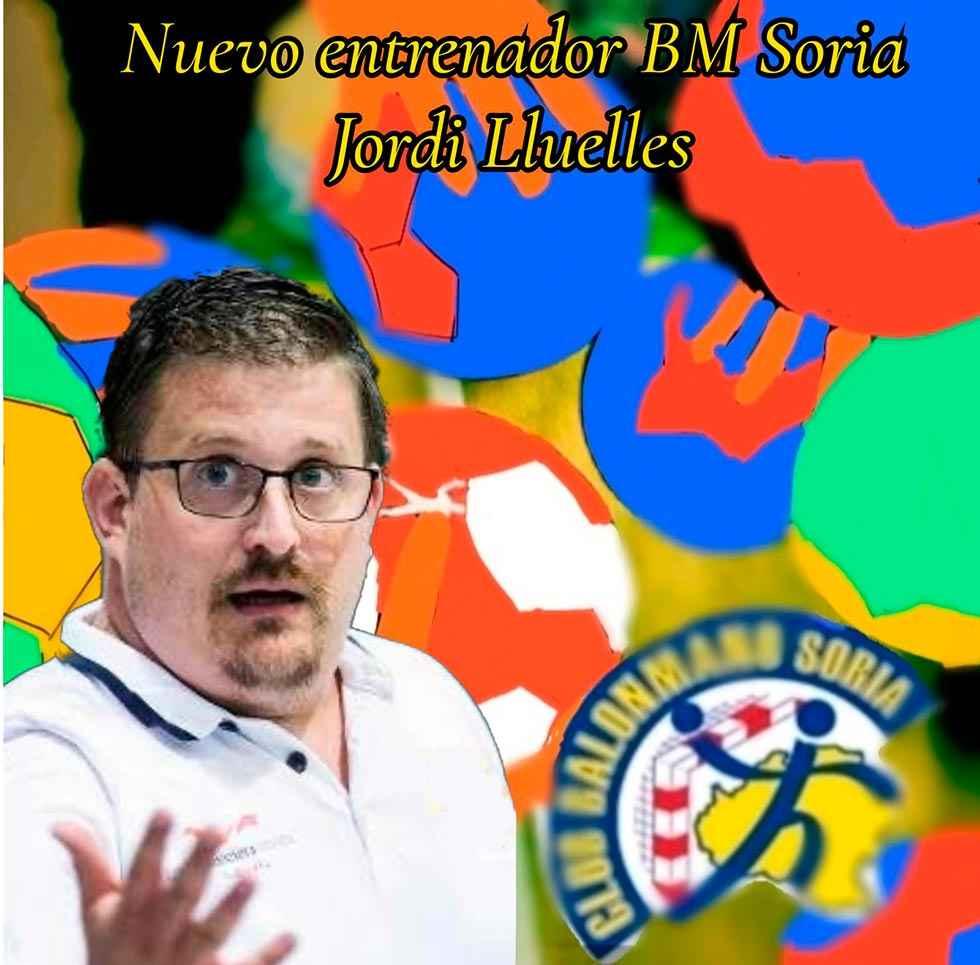 Jordi Lluelles, nuevo entrenador del Club Balonmano Soria