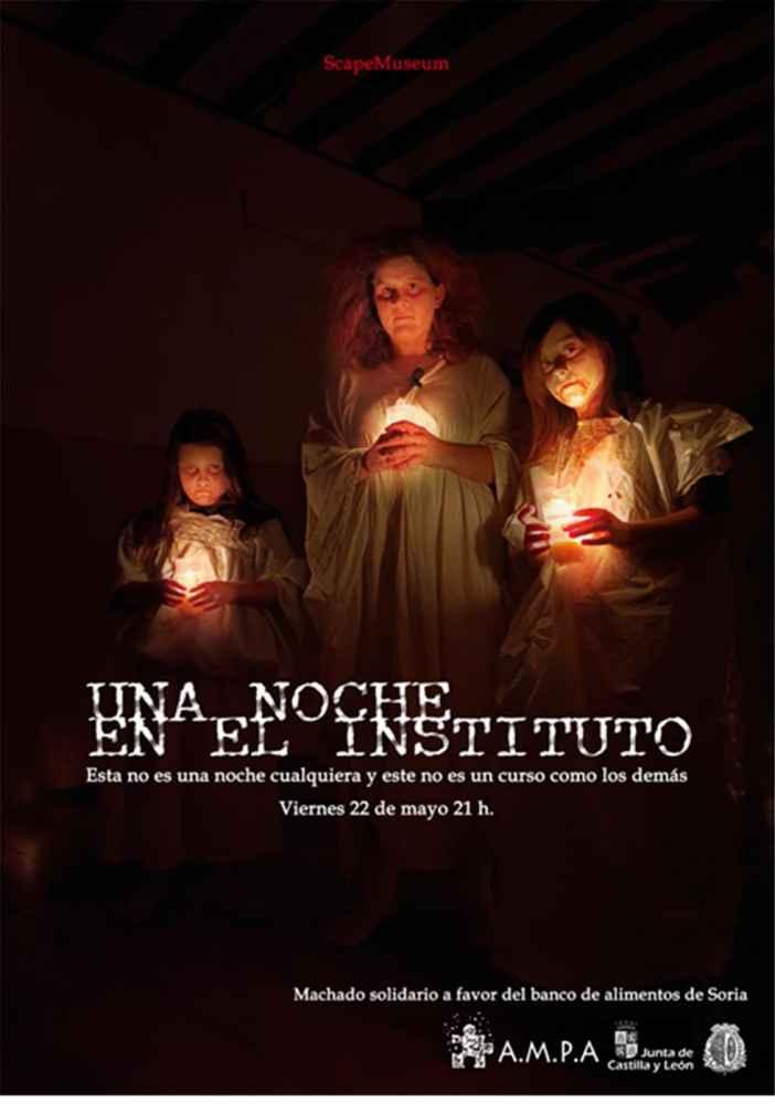 """Escape Rom digital el """"Fantasma del Machado"""""""
