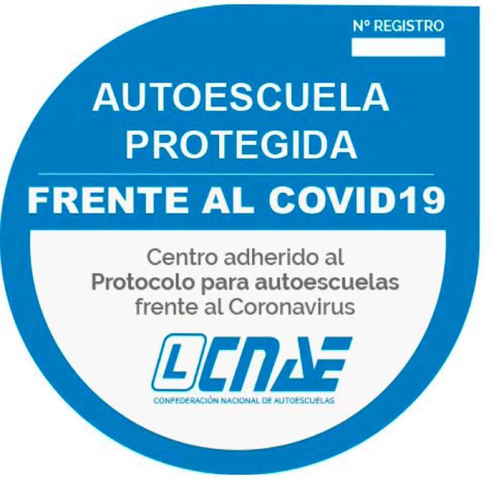 Las autoescuelas se adhieren al protocolo CNAE Covid 19