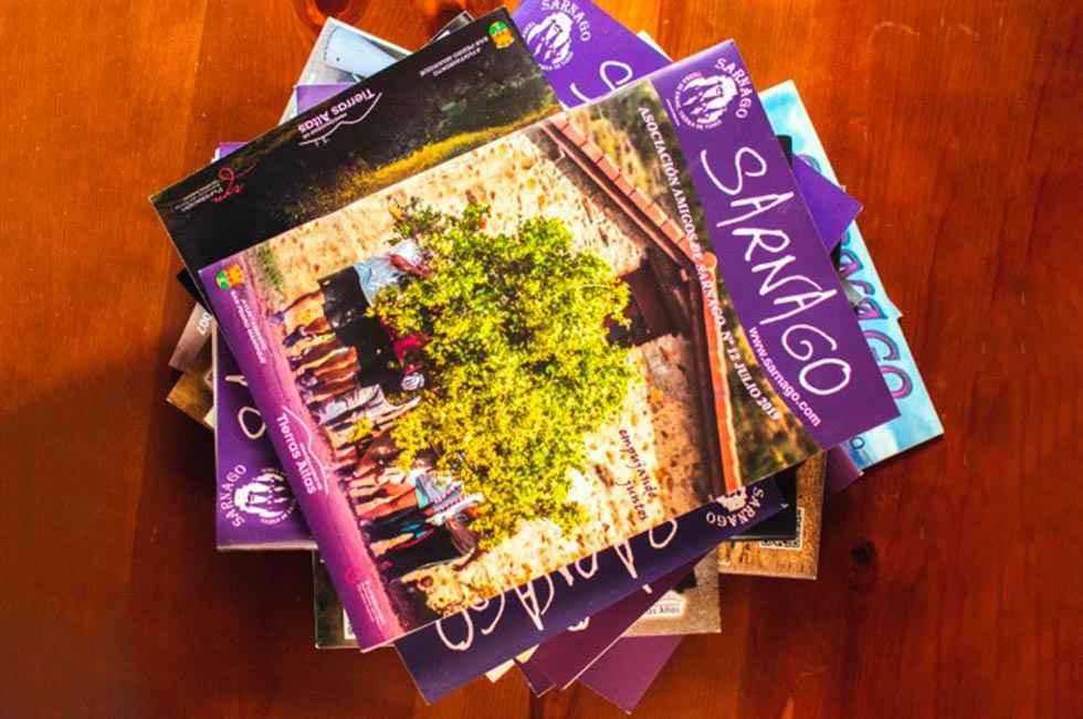 Sarnago, más cerca de la financiación de su revista