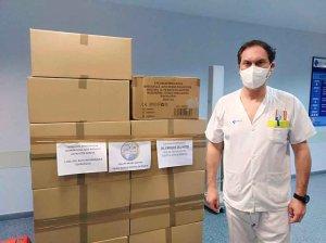 El Centro Cultural Islámico de Madrid dona material al hospital
