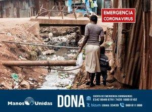 Campaña de emergencias de Manos Unidas