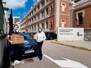 La Junta publica todos los contratos de suministros para Covid