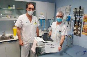 """""""El Matojo"""", de Ólvega, dona material sanitario al hospital"""