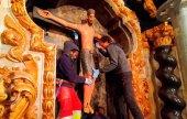 Concluida la restauración del retablo del Santo Cristo del Milagro