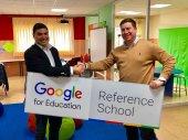 """Google """"se cuela"""" en clase de Los Escolapios"""
