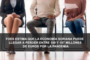 FOES denuncia que crisis se ceba con Soria